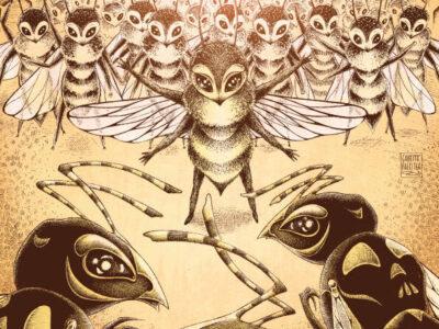 L'ape coraggiosa